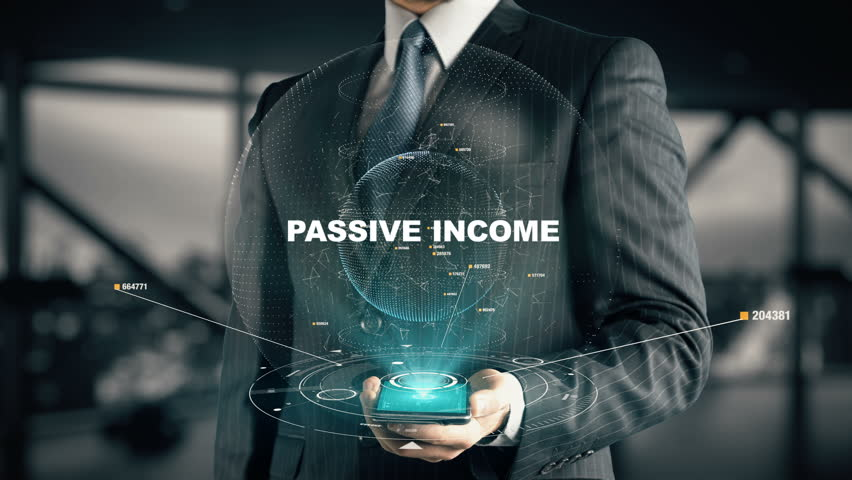 Businessman with Passive Income