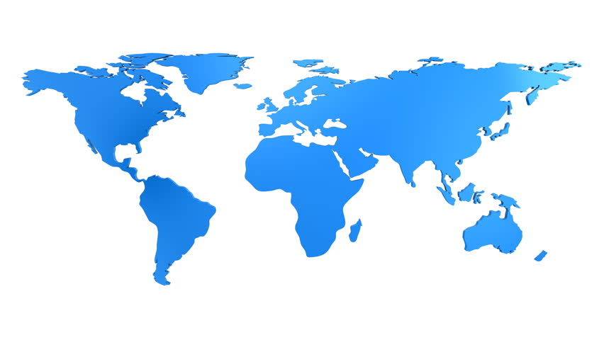 World Map With Pins HD Stock Footage Video 1491730 ...
