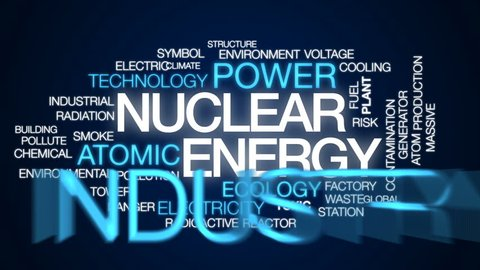 Mainstream Animated Word Cloud, Text Stock Footage Video (100