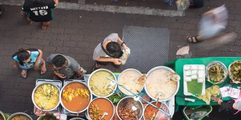 Bangkok street food vdo