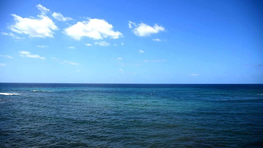 blue sea in Sardinia coastline, Italy