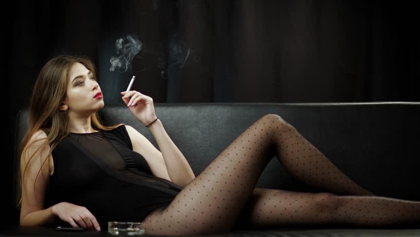 Sexy smoker videos