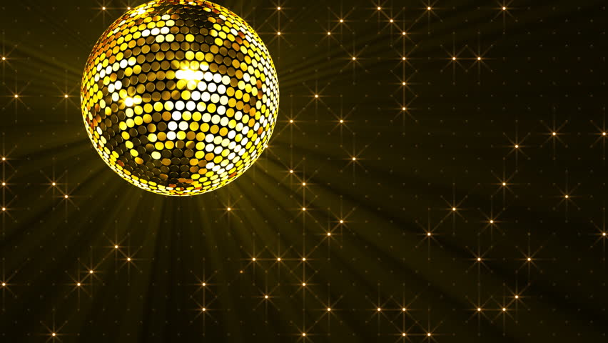 Stock Video Of Mirror Ball And Ball Light 3055621