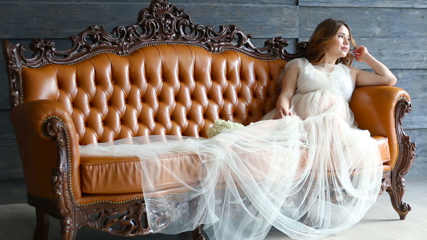 Idea young pregnant bride agree