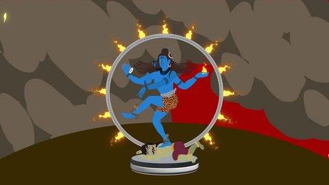 Lord Shiva Crushing Apasmara and Performed the Cosmic Dance of Tandavam