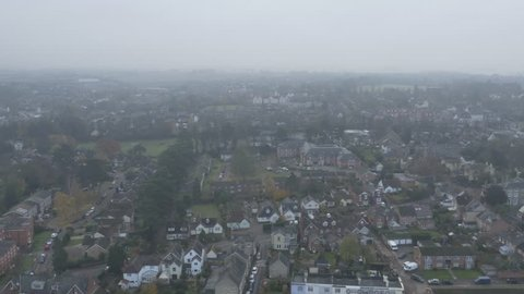 Aerial 4 of Bishops Stortford, Hertfordshire, UK
