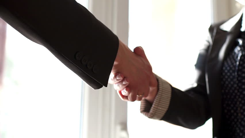 Business handshake. Business handshake and business people concept | Shutterstock HD Video #30782401