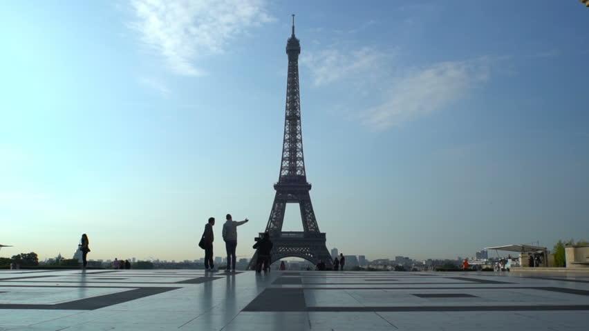 Eiffel tower. Paris Best Destinations in Europe | Shutterstock HD Video #30867718