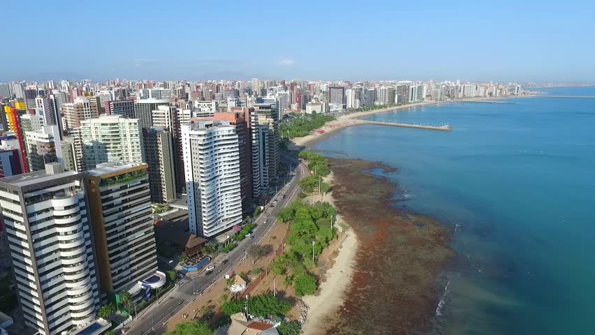 Aerial images - Fortaleza - Ceara - Brazil