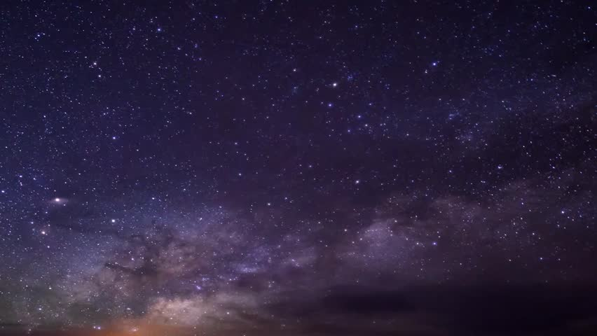 Milky Way Galaxy, Timelapse Mojave Desert Red Rock Canyon, Timelapse Mojave Desert Red Rock Canyon, Milky Way time lapse FHD with moonrise, Starry night and milky way. Full HD galaxy, REAL 60 FPS.
