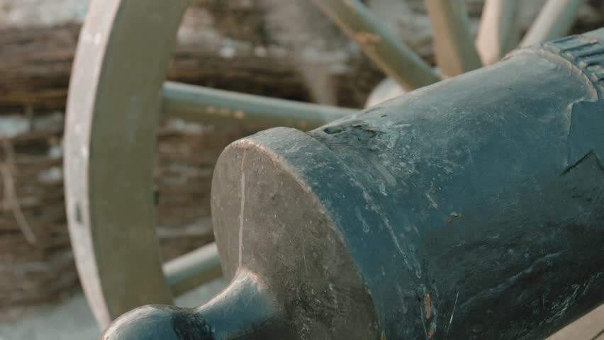 Work process of the antique cannon | Shutterstock HD Video #31008271