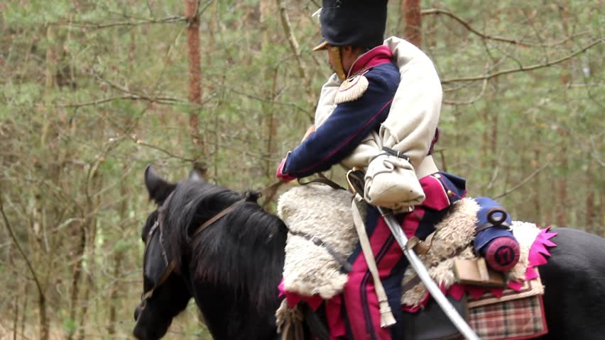 Header of cavalry