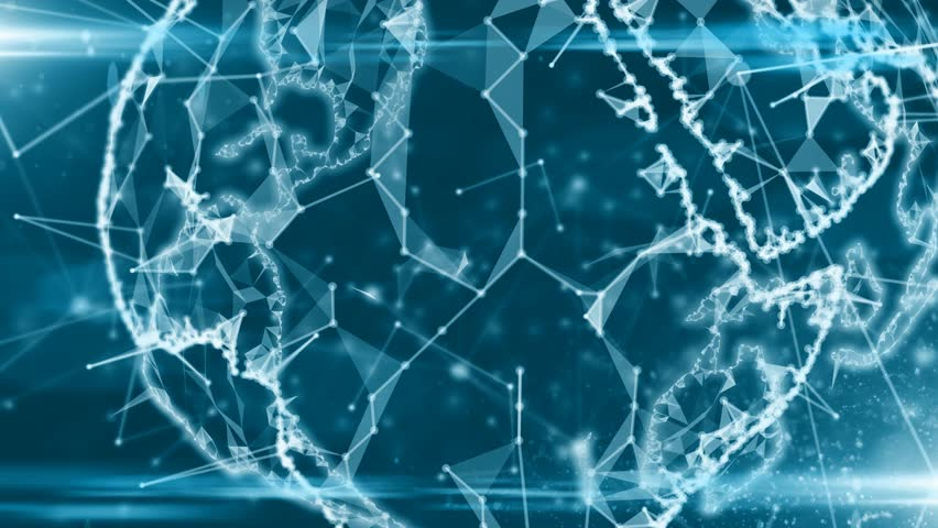 Global connected devices Internet of things (IoT) cloud computing data network | Shutterstock HD Video #31073191