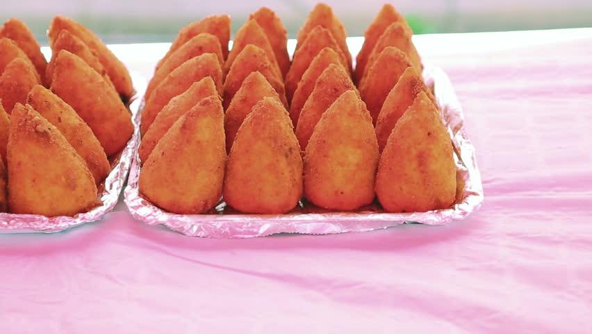 Arancini Rice Balls   Shutterstock HD Video #31298368