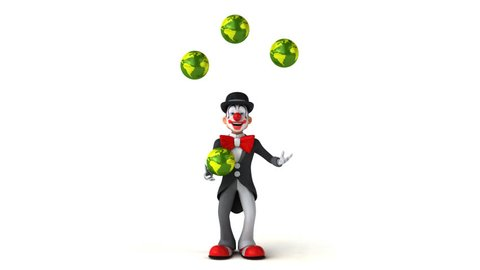 Fun clown - 3D Animation