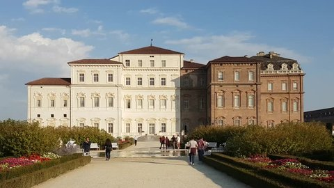 The Palace of Venaria in Turin, Italy 2017
