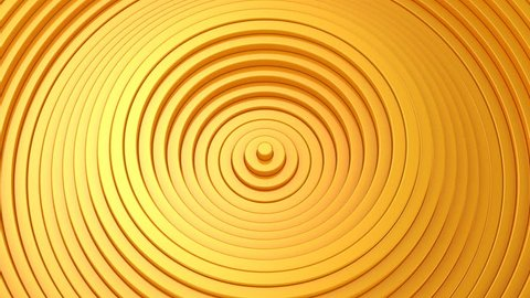 Background From Animated Circles. Abstract background, 2 in 1, loop, created in 4K, 3d animation