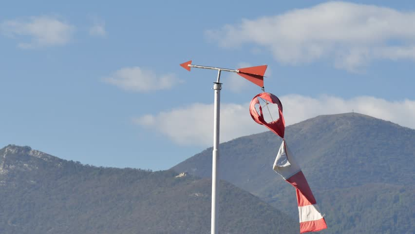 Header of windsock