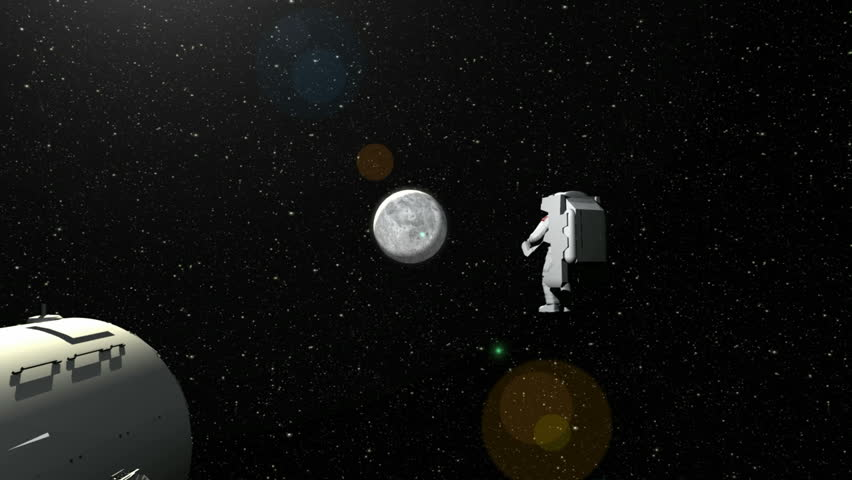 astronaut drifts into space - photo #39