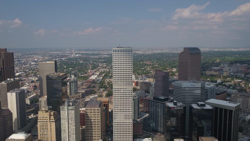 Aerial Colorado Denver July 2017 Sunny Day 4K Inspire 2 | Shutterstock HD Video #31632811