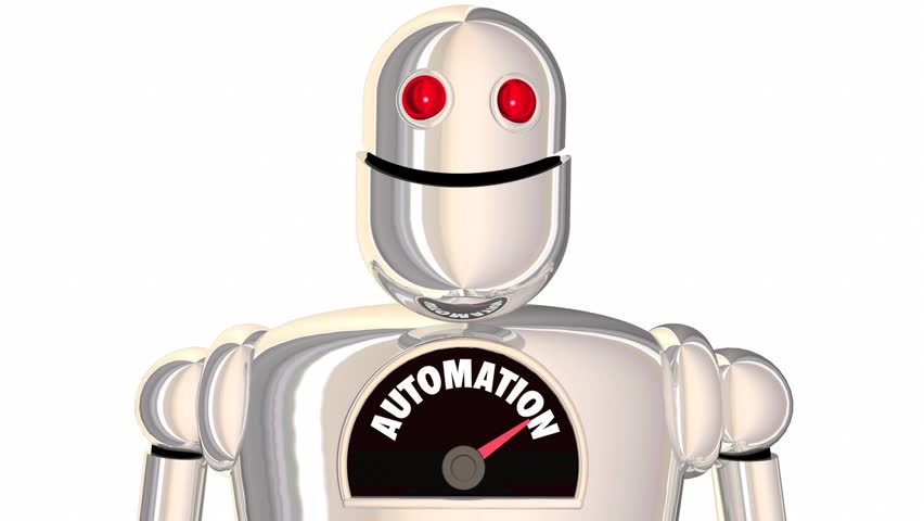 Automation Robot Automated Process Android 3d Animation