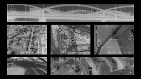 infrared Helicopter War Footage compilation 2 montage