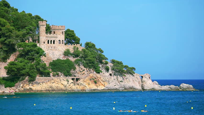 Lloret de Mar, popular holiday resort on Costa Brava in Catalonia, Spain