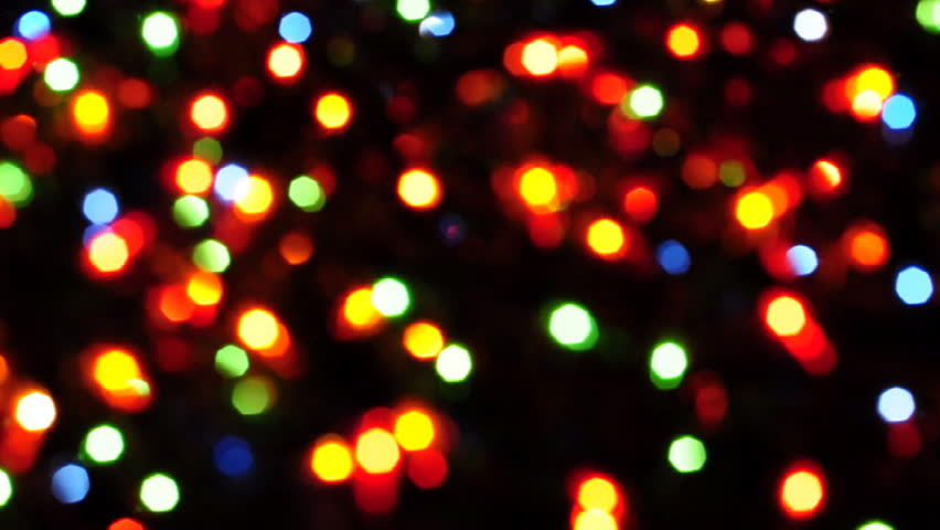 Colorful Christmas Lights Background.Blurred Colorful Christmas Lights On Stock Footage Video 100 Royalty Free 3186241 Shutterstock