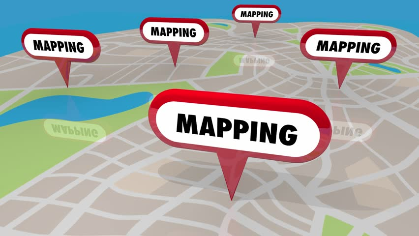 Mapping Navigation Direction Pins Map Stock Footage Video (100%  Royalty-free) 31894201 | Shutterstock