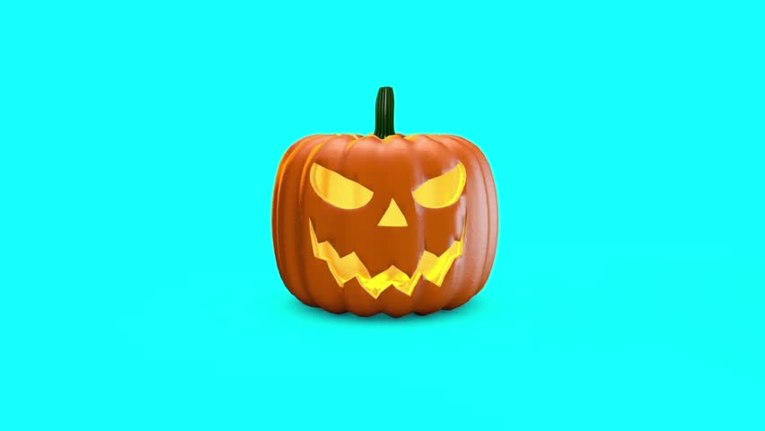 Halloween Pumpkin Explosion 3D Rendering Animation | Shutterstock HD Video #31923181