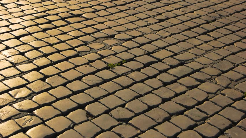 Cobblestone Texture Stock Footage Video Shutterstock