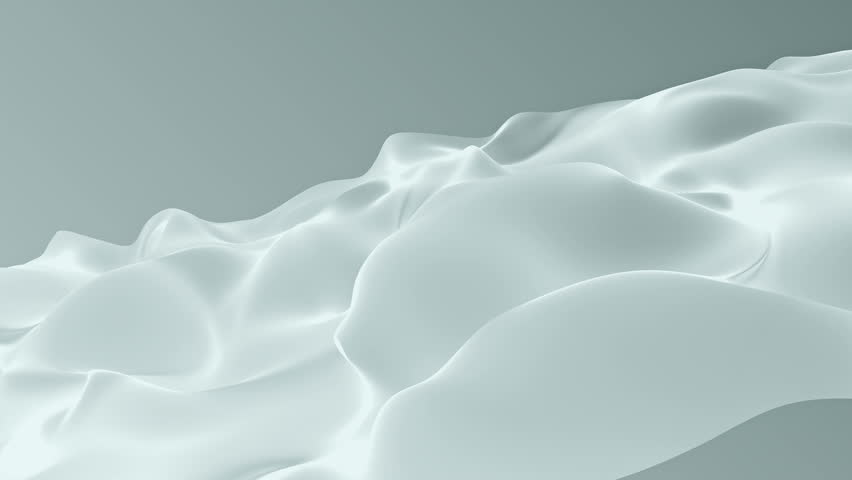 Abstract background waving with silk surface to the wind. Clear backdrop of ripple fabric. Beautiful abstraction of glowing cloth. Animation of seamless loop. | Shutterstock HD Video #32010331