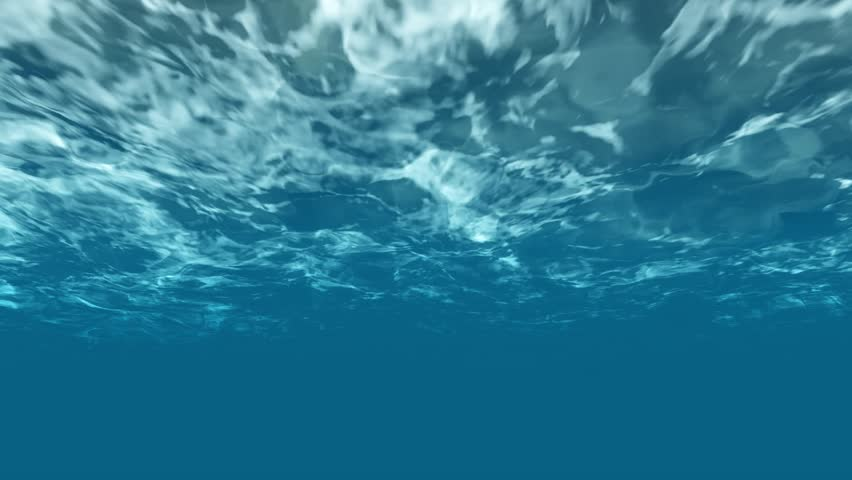 High quality Looping 3D animation of ocean waves from underwater with floating.popular marine Background. (seamless loop, high definition ) | Shutterstock HD Video #32030581