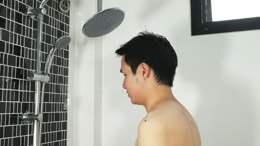 Men Shower Video