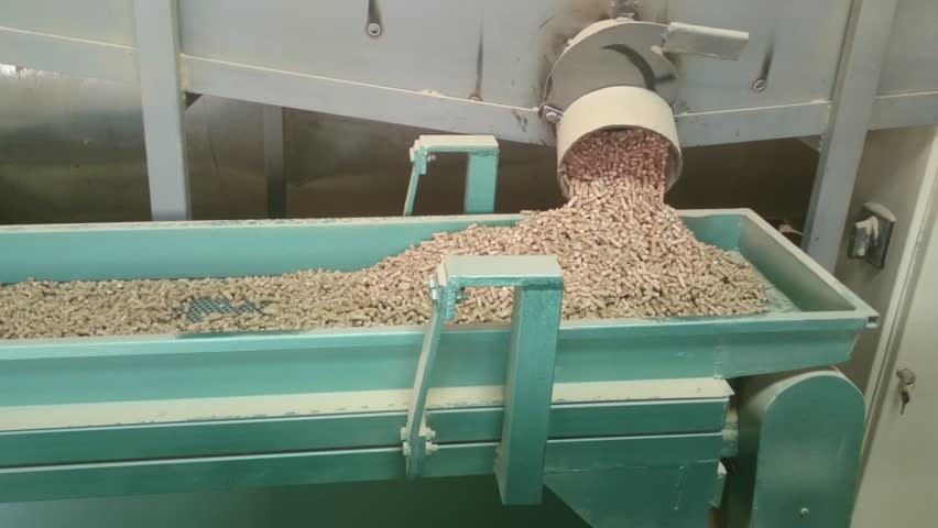 Part of pellets manufacturing process