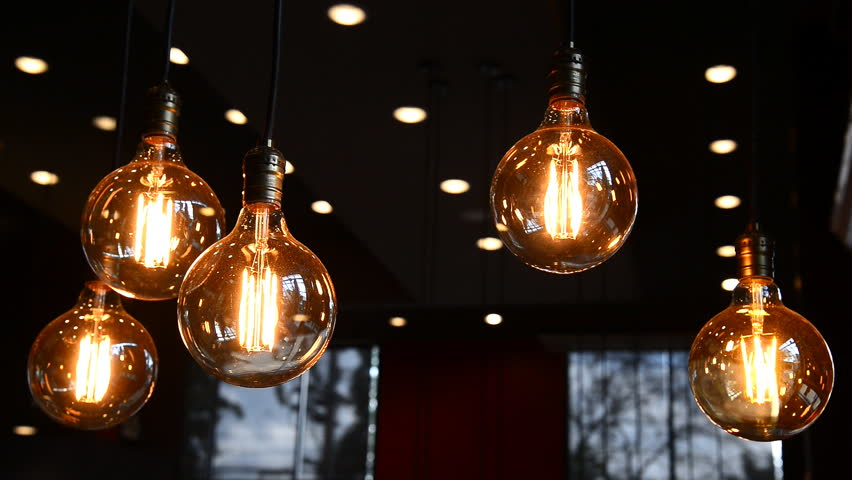 Decorative Antique Edison Style Filament Stock Footage Video 100 Royalty Free 32253301 Shutterstock