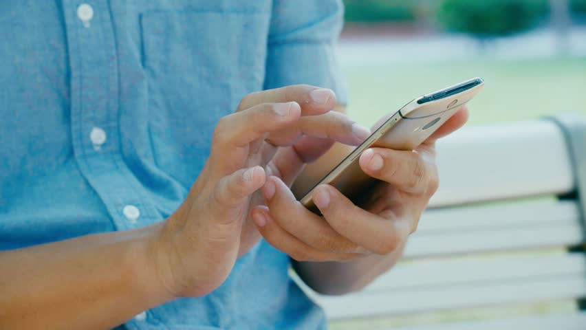 Man using at mobile phone | Shutterstock HD Video #32308681