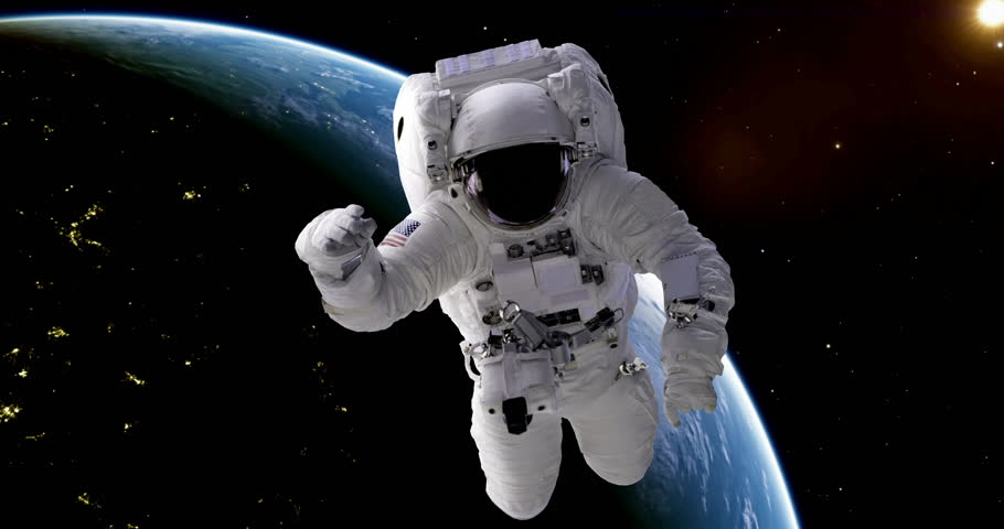 astronaut drifts into space - photo #6