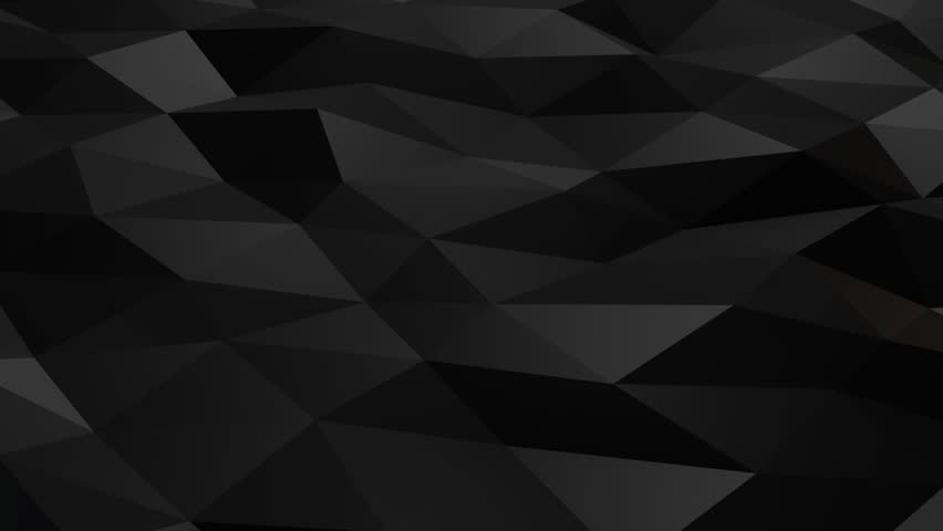 Black polygonal shiny shapes animation loop. Background motion design, seamless looping. HD resolution. 10 seconds. | Shutterstock HD Video #32370604