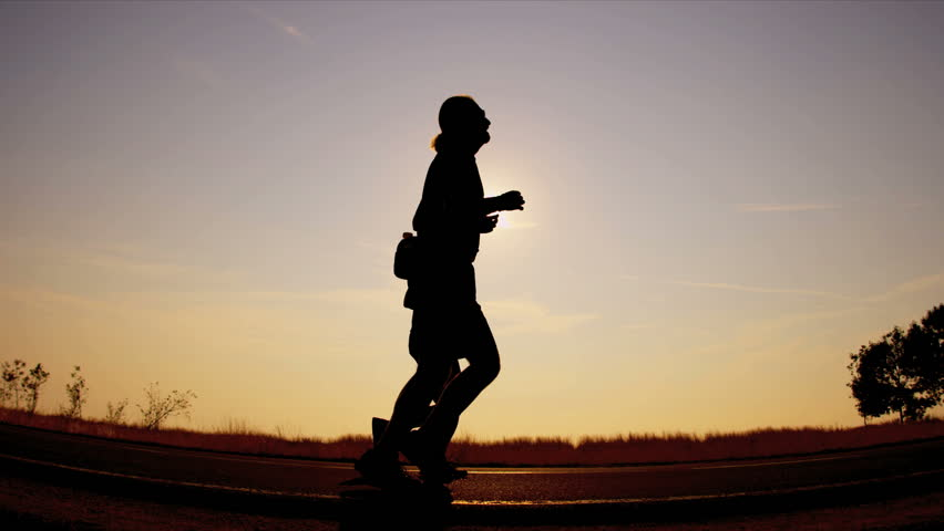 People power walking under the sun | Shutterstock HD Video #3246061