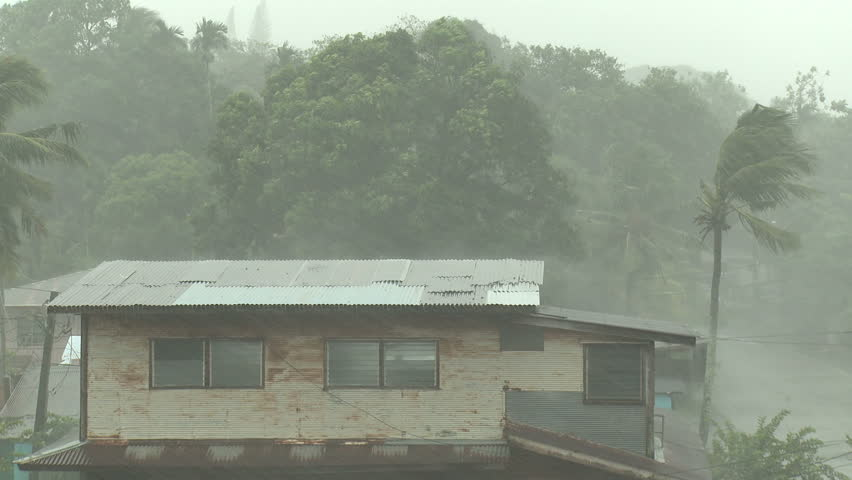 Tropical Storm Lashes Pacific Island - Shot in full HD 1920x1080 30p on Sony EX1 XDCAM.