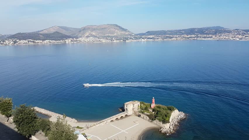 Luxury Yacht Cruising in amalfi coast, ITALY   Shutterstock HD Video #32627461