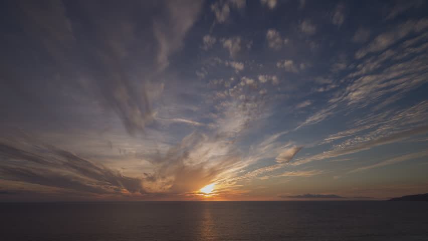 Dramatic Sky Time Lapse Sunset sunrise over ocean 4k source 4444 Set of 14