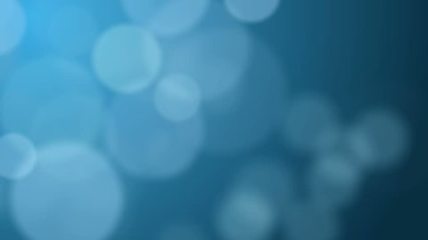 abstract blurred blue bokeh background