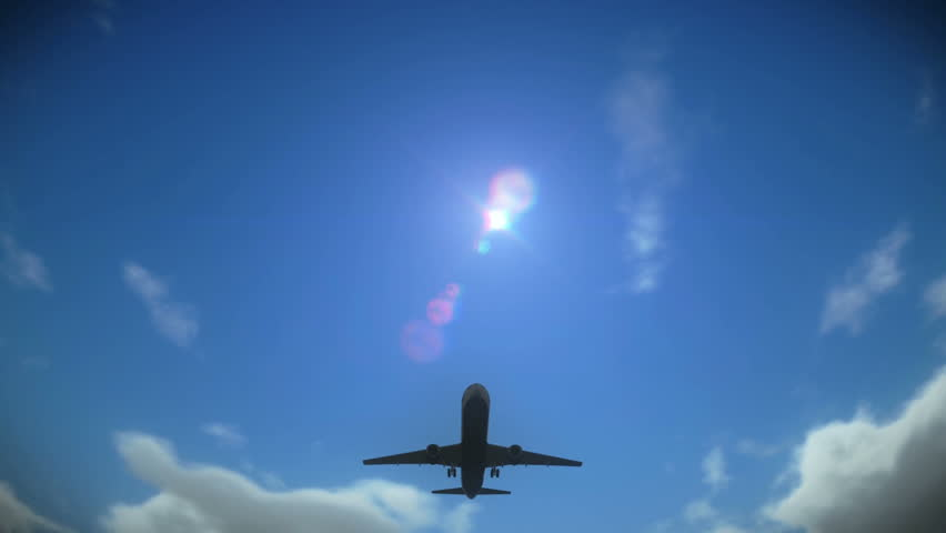 Airplane taking off | Shutterstock HD Video #3281786