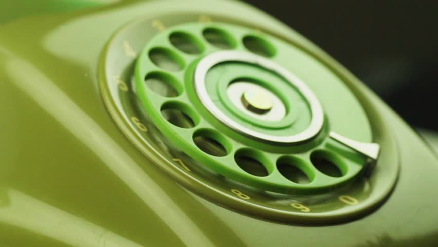 Close-up view on old telephone dial | Shutterstock HD Video #33065980