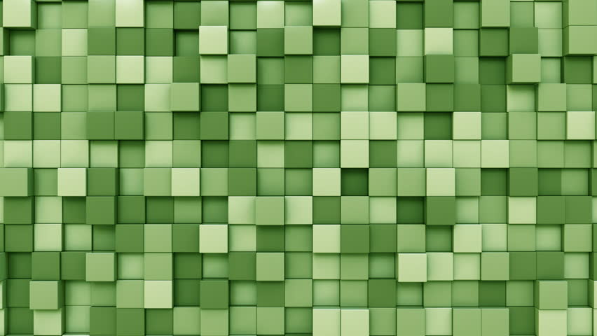 Moving light green cubes motion background, seamless loop | Shutterstock HD Video #33098056