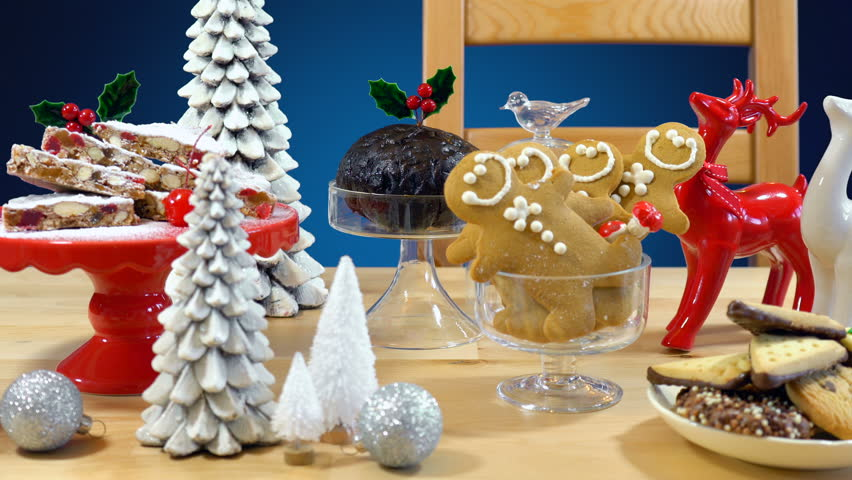 Festive Table With Traditional English Stock Footage Video 100 Royalty Free 33233911 Shutterstock
