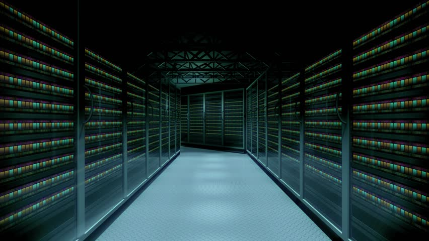 Server data center animation | Shutterstock HD Video #33300148