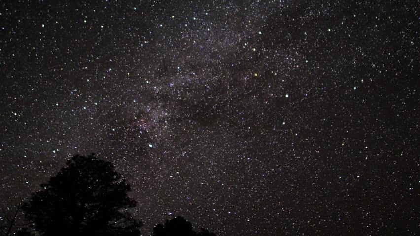 Milkyway Timelapse 25 Zoom In   Shutterstock HD Video #3339491